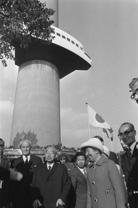 Keizer Hirohito in Rotterdam