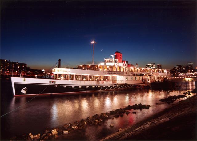 Partyschip Raderstoomboot De Majesteit