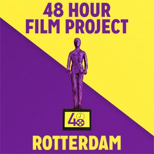 48 hours team Delfshaven werd gevolgd door Cineac tv Rotterdam